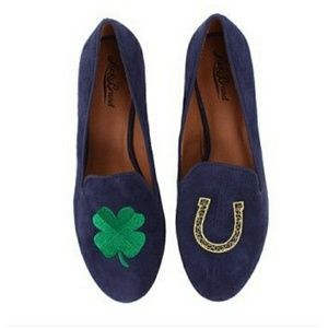 Lucky Brand Duke Morrocan Blue Oil Suede Loafers